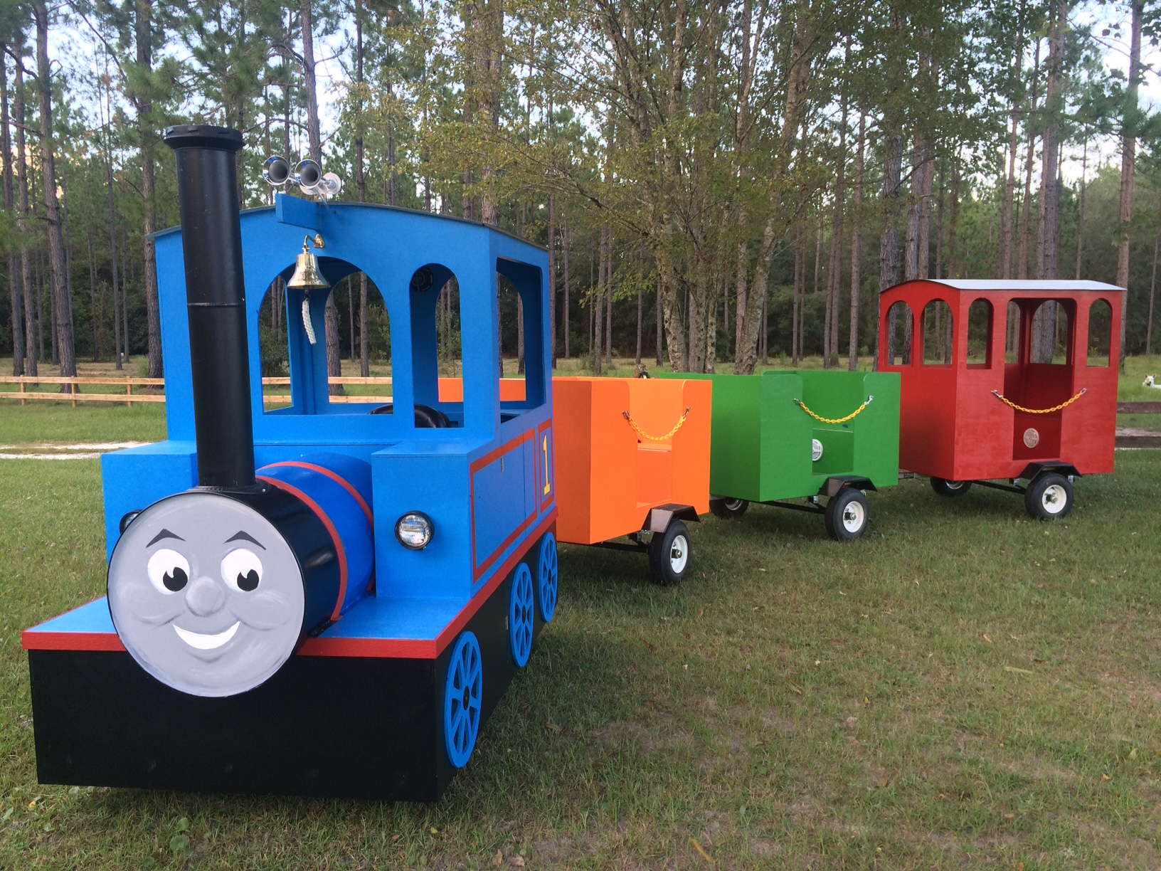 Trackless Train Rental In Waycross
